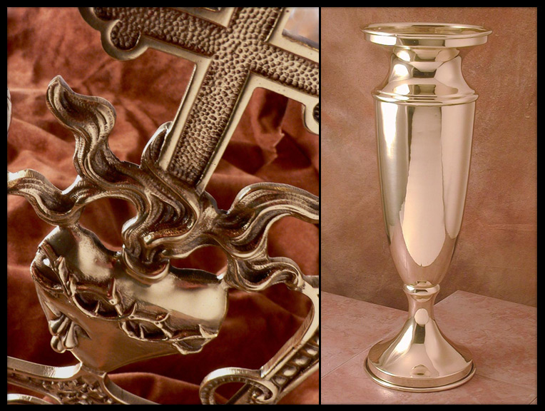 Theiss Plating | Restoring Your Churchware - Old vs New
